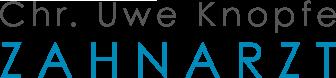 Zahnarzt Knopfe Logo